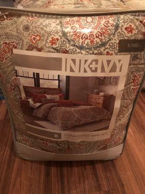 Ink + Ivy Comforter Mini Set King for Sale in Las Vegas, NV