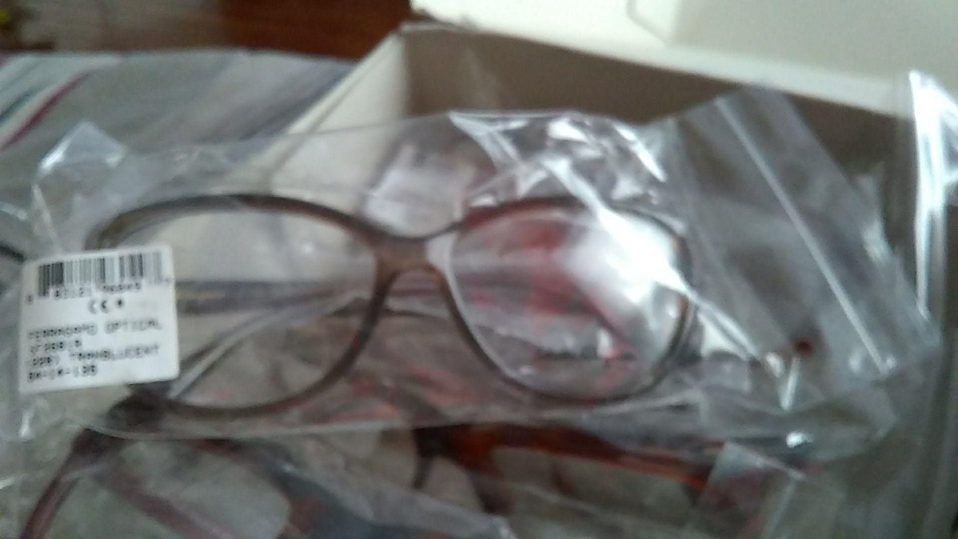 Ferragamo glasses prescribed