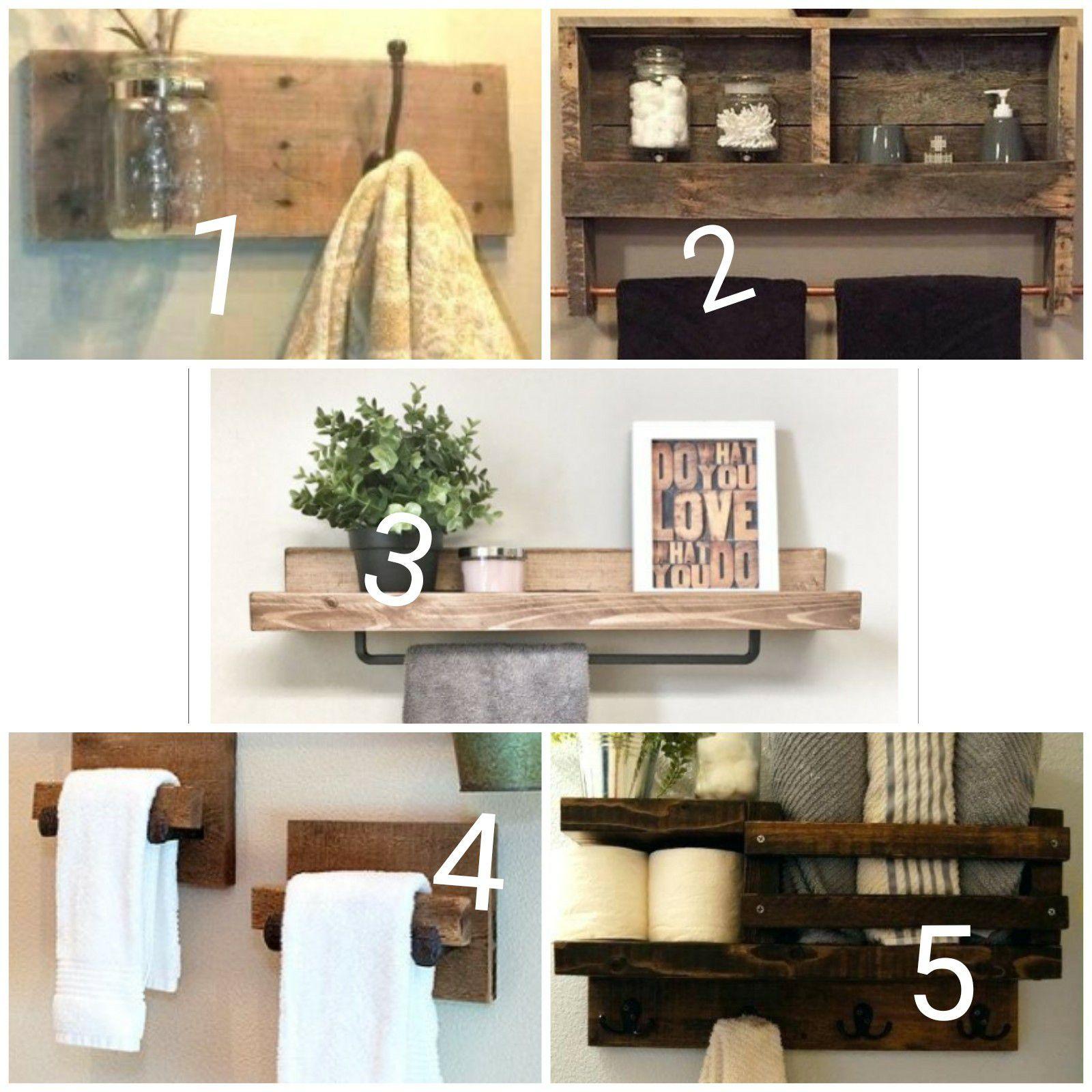 Custom made shelf (farmhouse style)