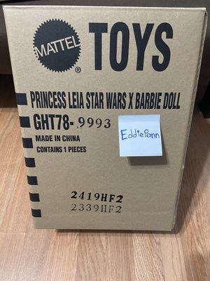 Star Wars A New Hope Princess Leia Barbie Signature Doll NRFB NWT IN HAND