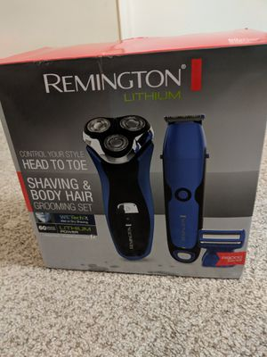 Shaver/ grooming set - New for Sale in Cary, NC