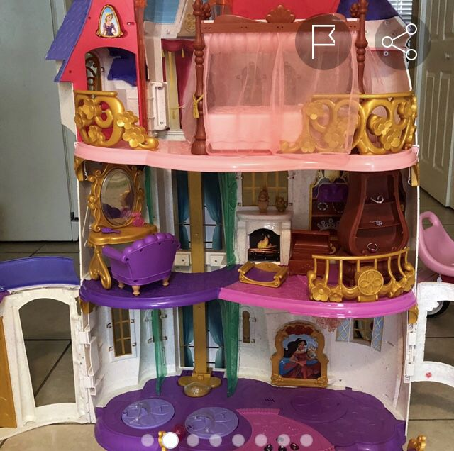 3 story Princess castle
