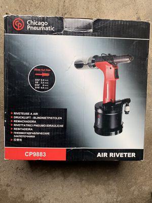 Used CP9883 RIVET GUN industrial grade pneumatic air hydraulic riveter gun  for Sale in Roseville, CA - OfferUp