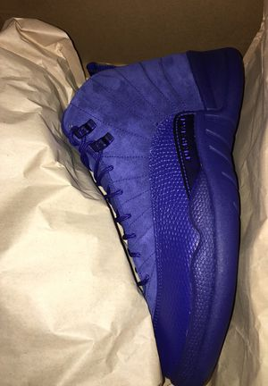 Jordan Retro 12 Blue Suede for Sale in Manassas, VA