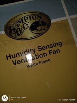 Hampton Bay Humidity Sensing Ventilation Fan /White Finish Thumbnail