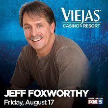 Jeff foxworthy tickets 8/17 viejas for Sale in San Diego, CA