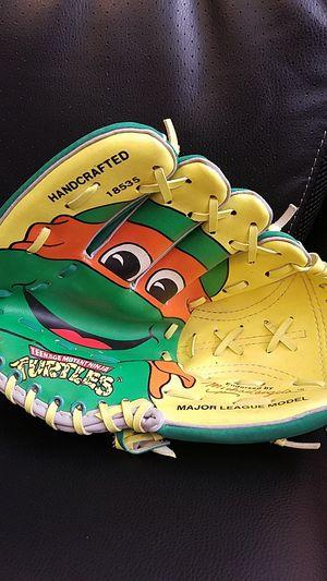1990 TMNT baseball glove Remco ninja turtles for Sale in Sykesville, MD