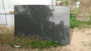 Blk solid Granite slab great piece for kitchen island, counter top for Sale in Phoenix, AZ