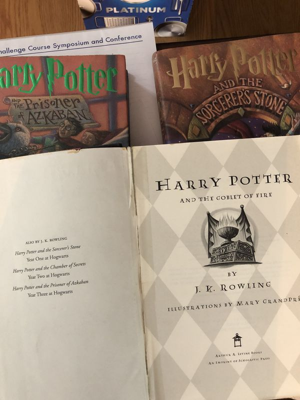 Harry Potter Book Set For Sale In Chesapeake Va Offerup