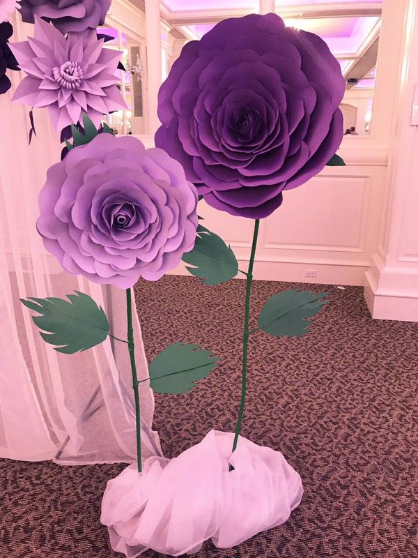 Decoration Big Paper Flowers For Sale In Portland Or Offerup