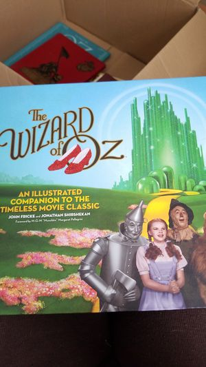 The Wizard of Oz, Illustrated companion to the timeless classic movie for Sale in Vale, NC
