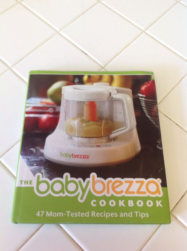 BABY BREEZA Baby food machine cookbook storage containers