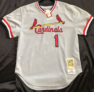 Authentic Mitchell and Ness Ozzie Smith Jersey for Sale in St. Louis, MO
