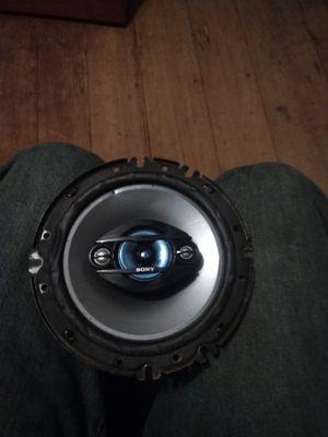 "Sony explode 6"" speakers for Sale in Crewe, VA"