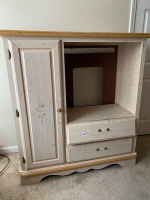 Photo Free dresser with TV stand