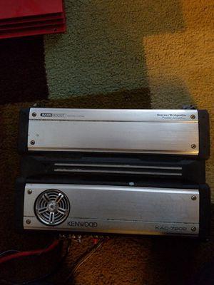 3 amplifiers/ 3plantas for Sale in Woodbridge, VA