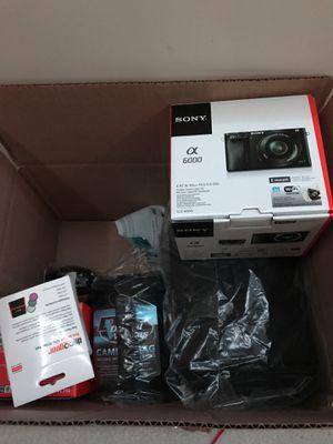 Sony A6000 Camera (Black Digital Bundle) for Sale in Sterling, VA