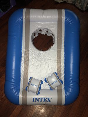 Intex brand . Game for kids or adults to try and toss the inflated balls into the whole like basketball. for Sale in West Orange, NJ