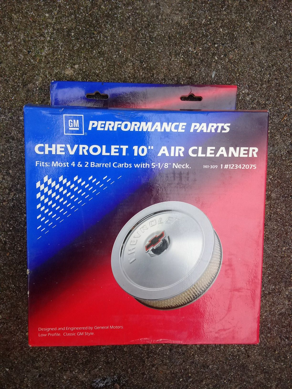 GM Chevrolet performance 10 inch air cleaner filter