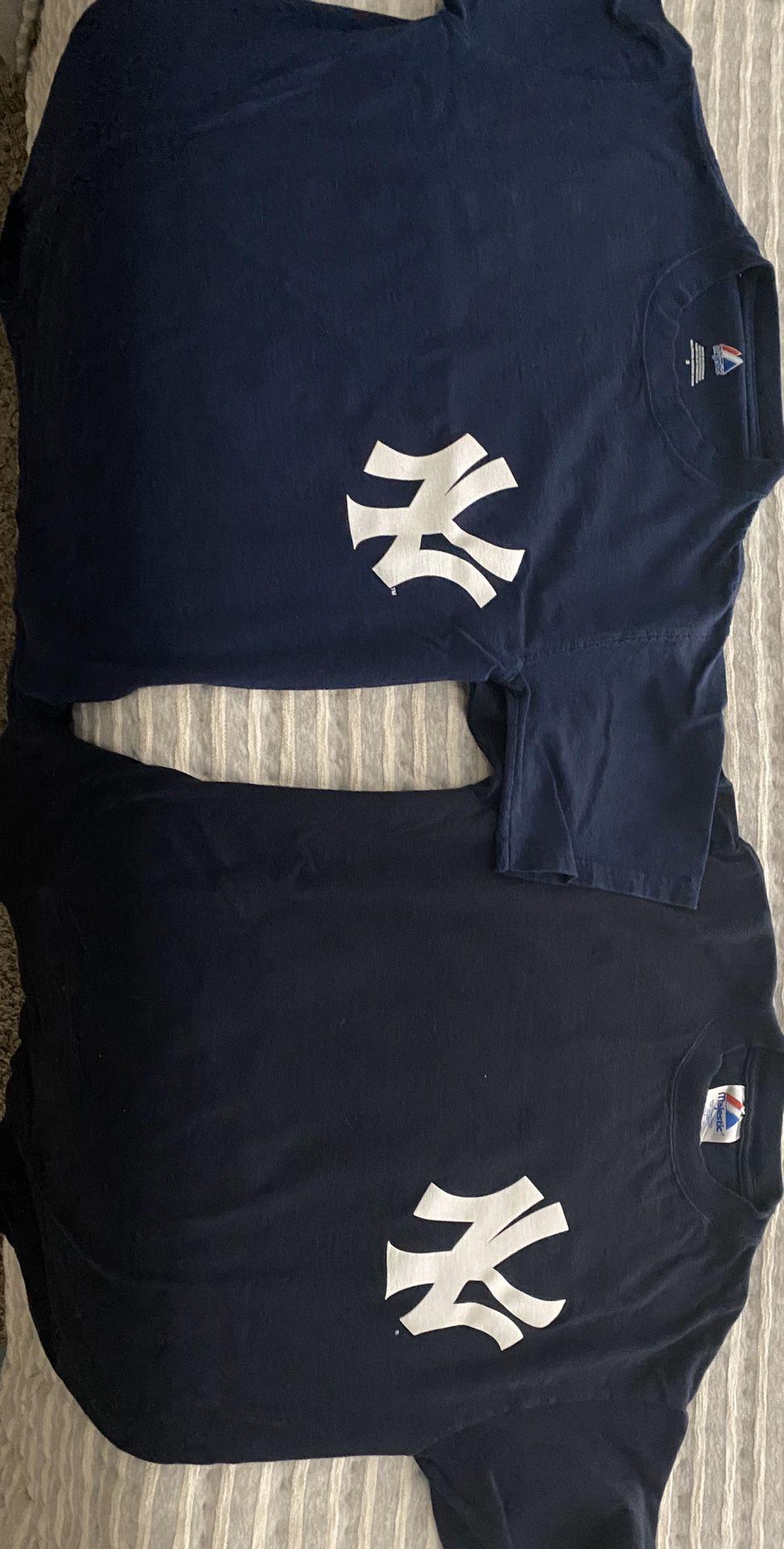 Yankees T shirts