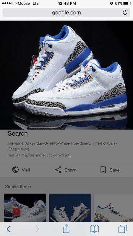 official photos 65a5d 9dc3a Jordan 3 retro true blue