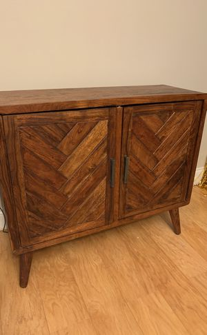 Wooden tv stand for Sale in Arlington, VA