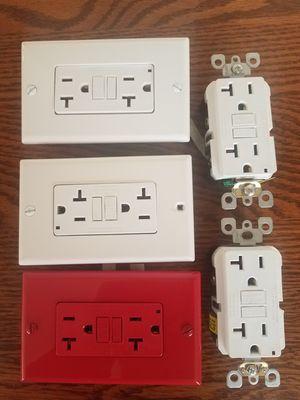 GFCI WHITE ELECTRICAL for Sale in Fairfax, VA
