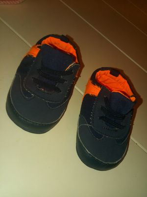 Baby boy crib shoes size 3 for Sale in Duluth, GA