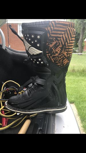 Dirt bike boots for Sale in White Plains, MD