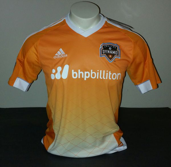 first rate 24a33 c6137 Adidas Houston Dynamo Home Jersey, Orange/White, Size S for Sale in US -  OfferUp