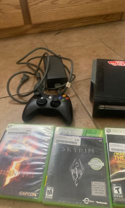 X Box 360 barely used , works great!! Thumbnail