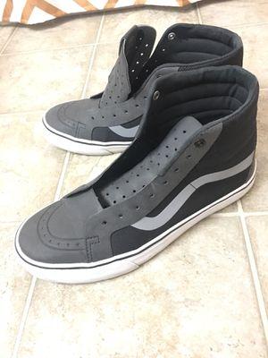 5a8cf9cf2f1d Vans Charcoal Black Grey for Sale in Menifee