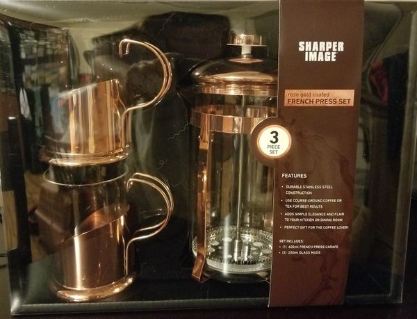 Sharper Image French Press Coffee Set For Sale In Independence Mo