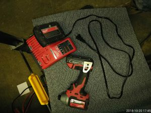 Milwaukee impact drill brus for Sale in Adelphi, MD