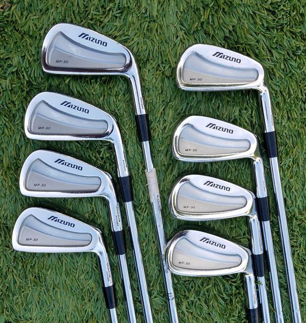 09318f0d5098 Mizuno MP 30 3-PW Golf Iron set Dynamic Gold X100 U Xtra Stiff  Shafts,Lamkin Grips, Great shape!