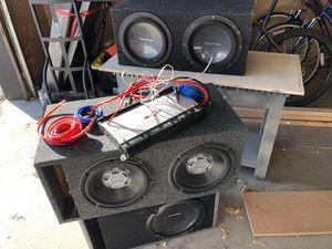 Awesome speakers for killer price for Sale in Salt Lake City, UT