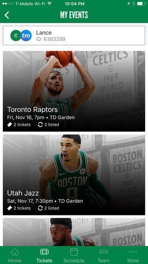 Celtics-vs-Toronto for Sale in Easton, MA