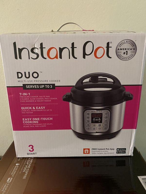cuiseur /à riz Instant Pot Duo Plus Mini 9 en 1 3 L sauteuse yaourti/ère et r/échaud cuiseur vapeur mijoteuse 13 programmes /à une touche