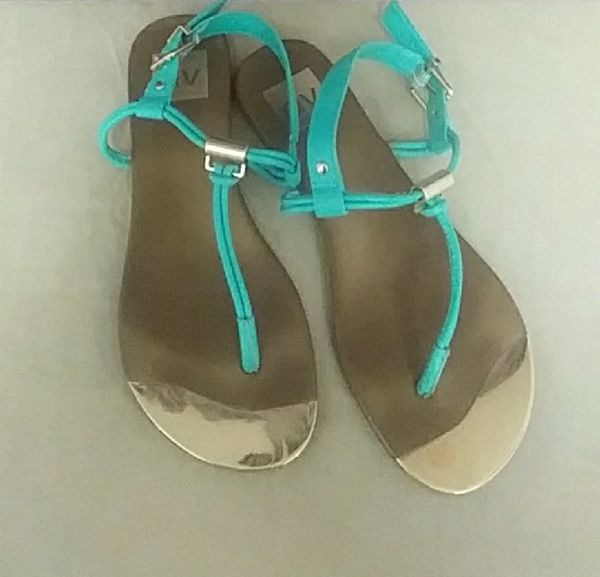 b3f43b249f76f6 DV Turquoise Sandals Size 7 1 2  7 for Sale in Mesa