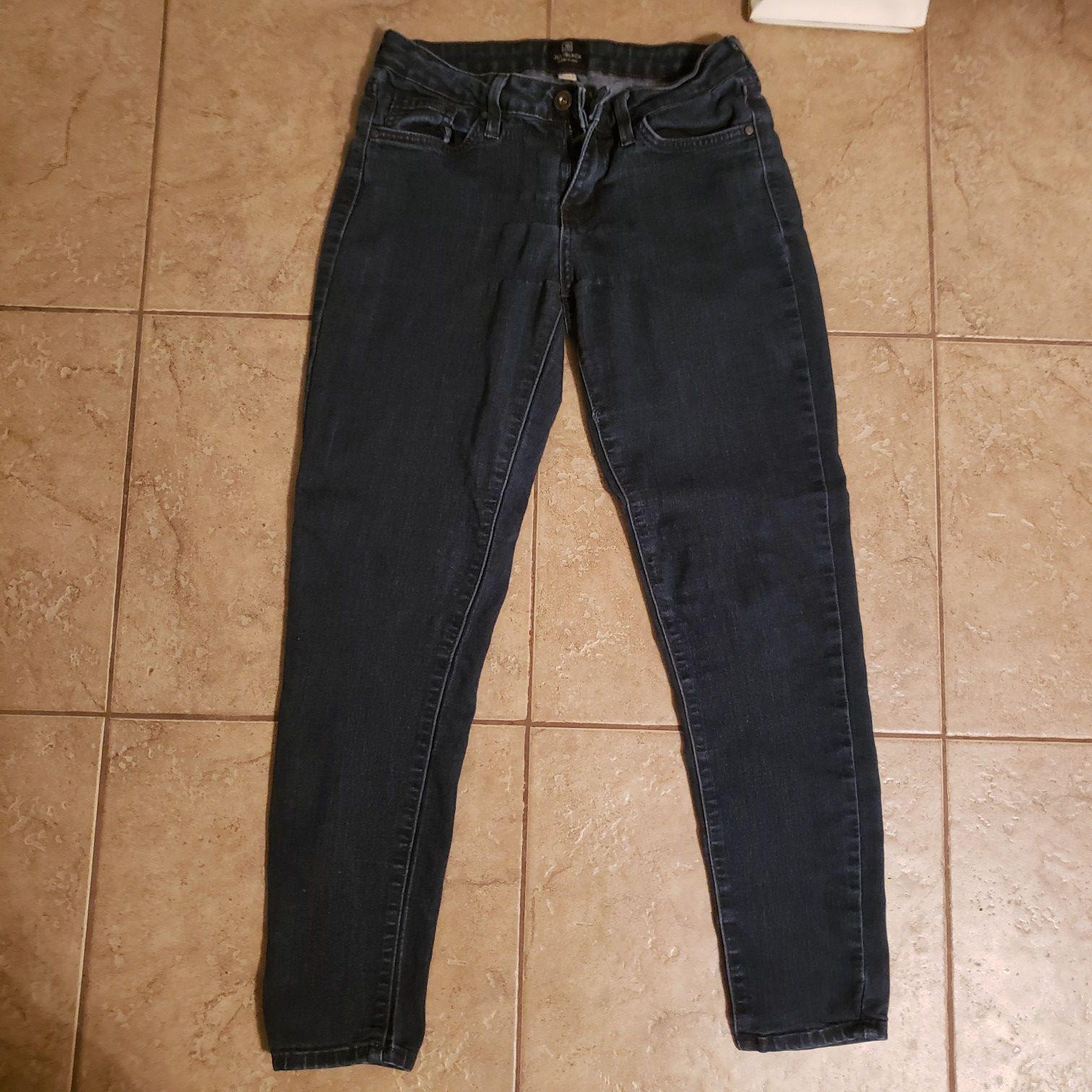 Size 26 (2) Just Black jeans