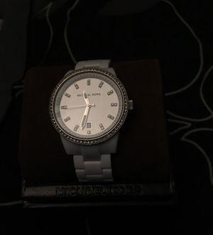 Michael Kors White Acrylic Watch for Sale in Richmond, VA