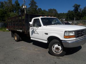 1996 truck f350 dually 5.7 113 k miles Dully 12 Ft bed Lumber Gated for Sale in Falls Church, VA