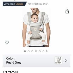 Ergo Baby Carrier with Infant Insert Thumbnail