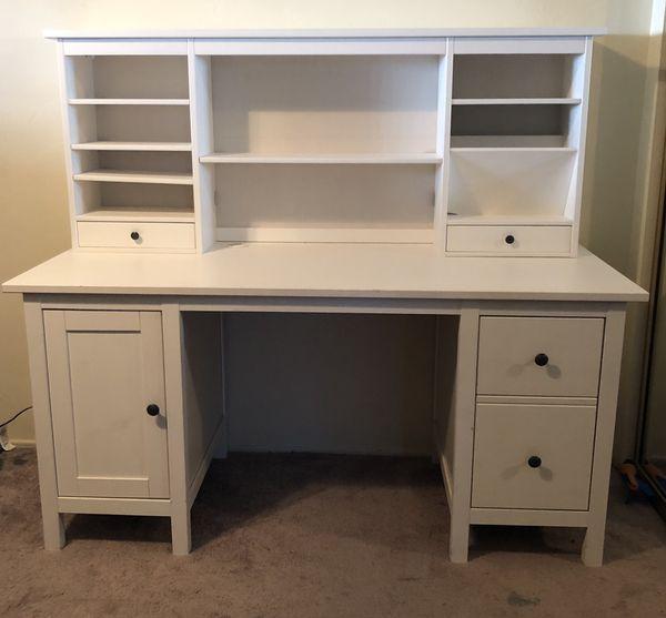 Ikea Hemnes Office Desk White For Sale In Lemon Grove Ca