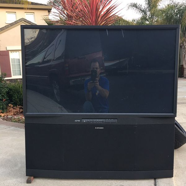 55 Inch Big Screen Mitsubishi Tv For Sale In Hayward Ca Offerup