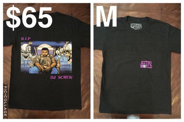 21b820ff79dd RIP DJ Screw Astroworld Shirt for Sale in Spring, TX - OfferUp