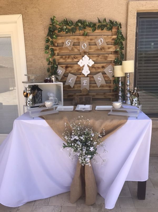 First Communion Party Decoration For Sale In Phoenix Az Offerup