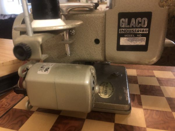 Glaco Industrial Sewing Machine For Sale In Houston TX OfferUp Beauteous Glaco Industrial Sewing Machine