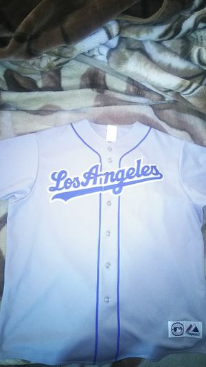 f62cc9ebcde Los Angeles Dodger Grey Jersey for Sale in Irwindale