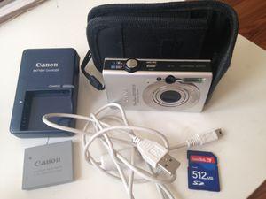 Canon PowerShot Digital ELPH SD1100 IS camera for Sale in Pittsburgh, PA